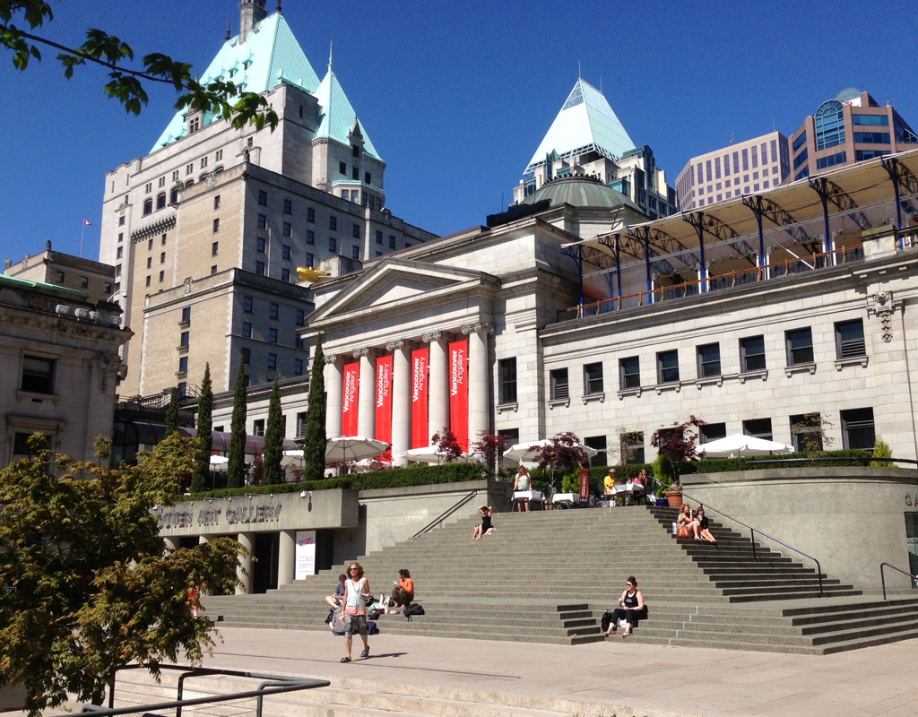 Vancouver Art Gallery. Vancouver, BC.