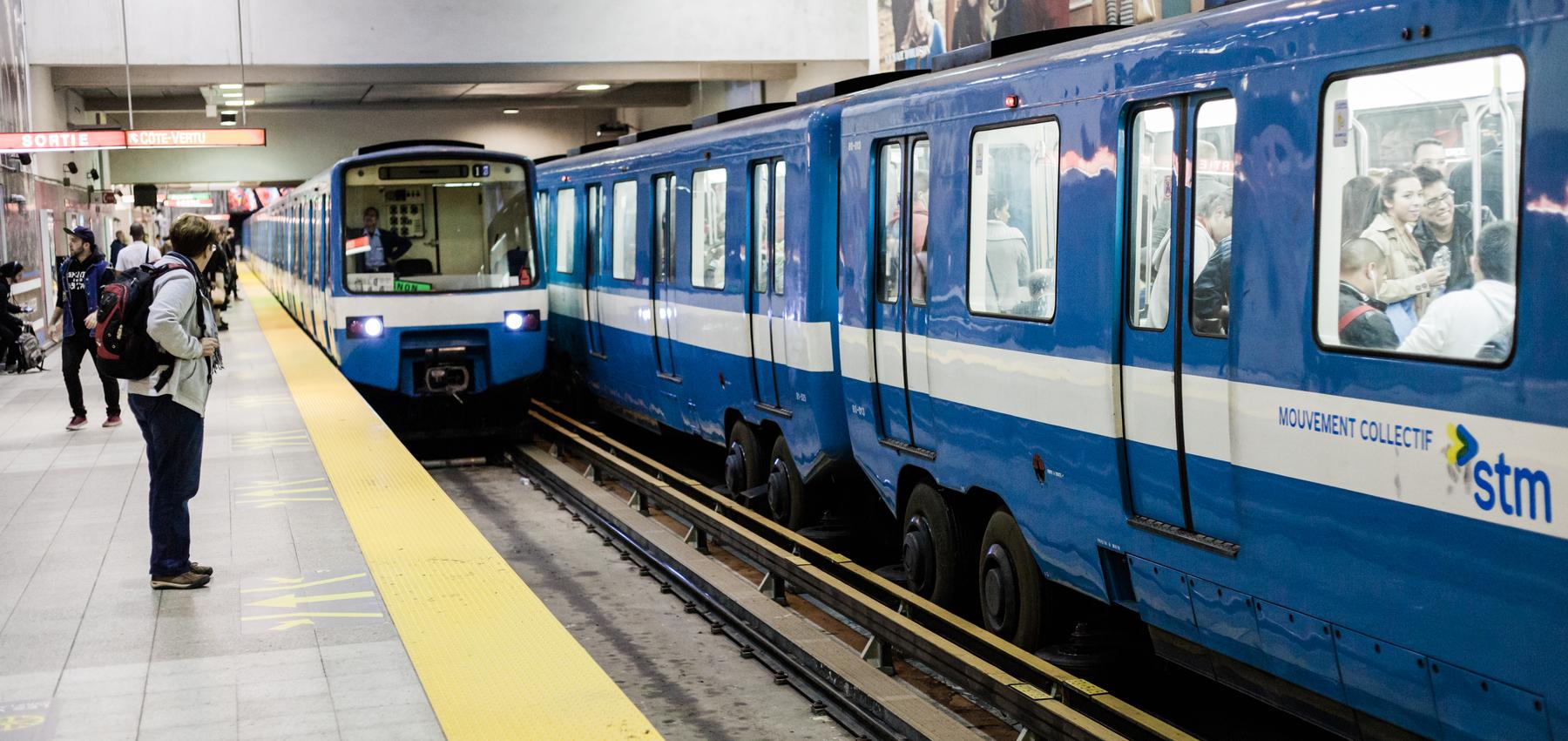 Metro Montreal. (Cortesía de Arrivein)