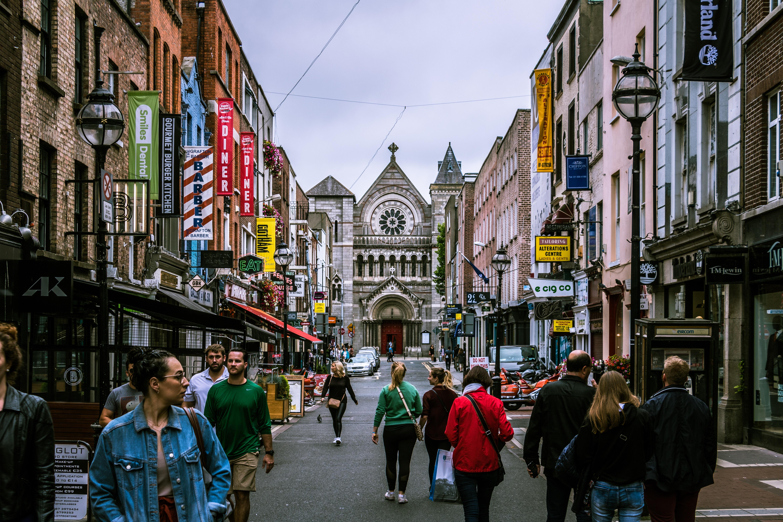 Dublín, Irlanda. (Cortesía de Pexels)