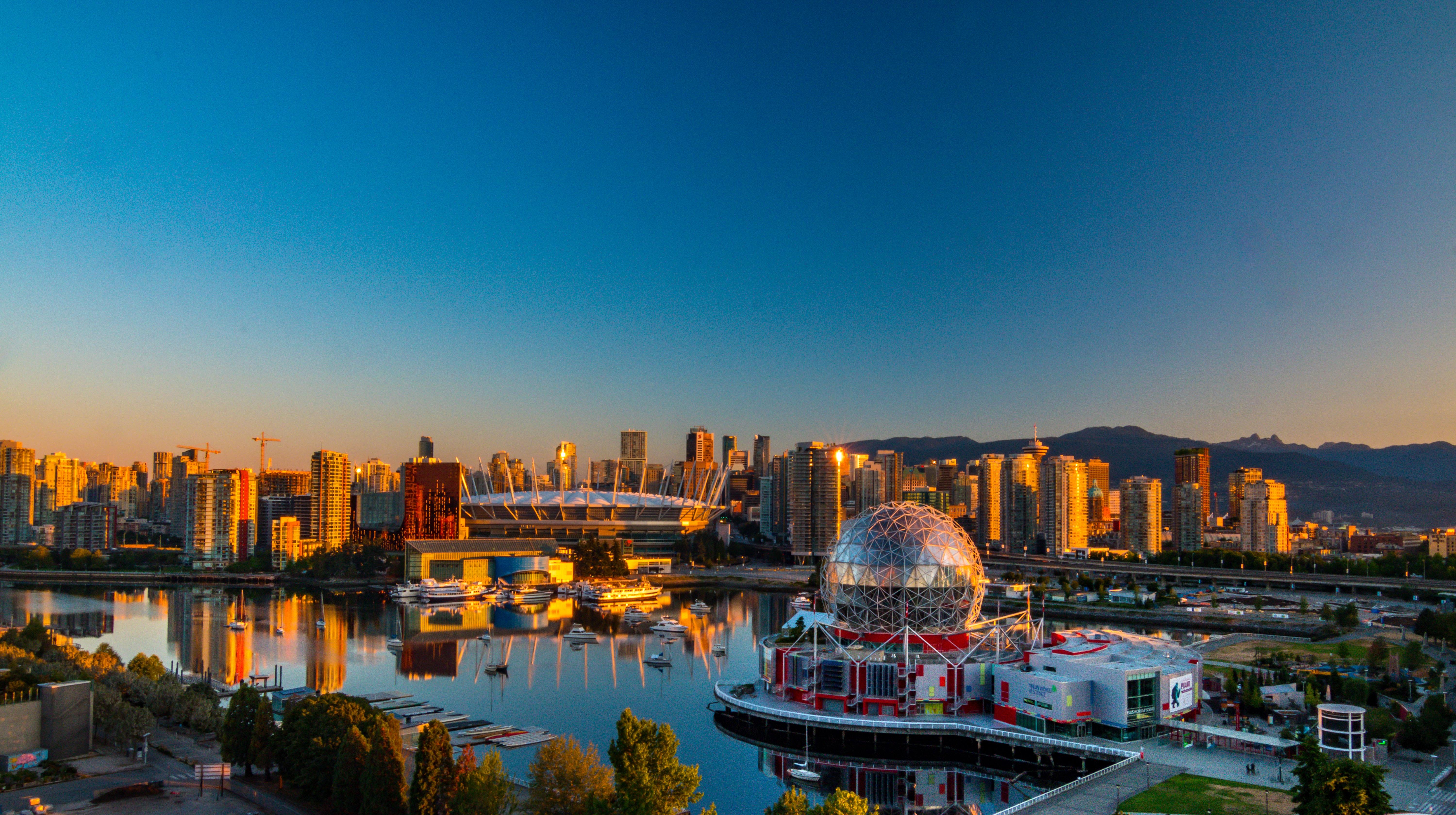 Vancouver, British Columbia. (Cortesía de Pexels)