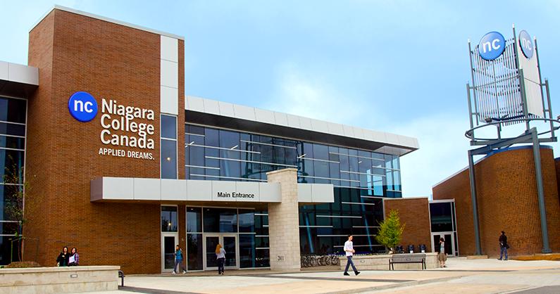 Campus Niagara College Canada. (Cortesía de NCC)